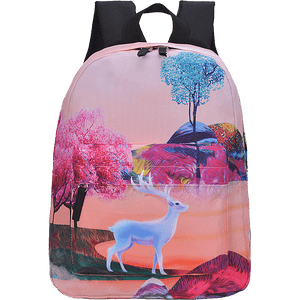 Mellotextile Beautiful Teenager School Backpacks For Girls-0